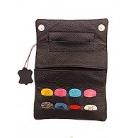 PICKHOLDER TOBACCO POUCH dark brown