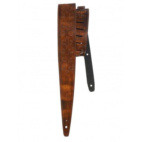 CELTIC KNOT Hand Carved vintage brown